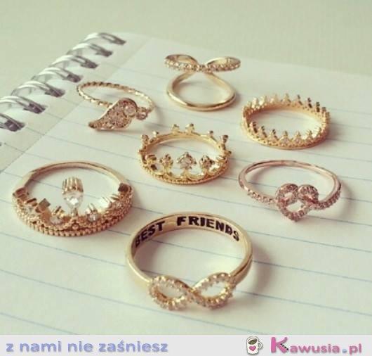 Boskie pierścionki