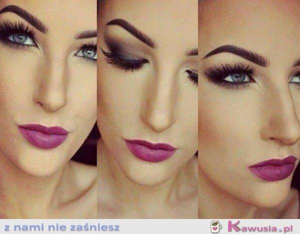 Świetny make up