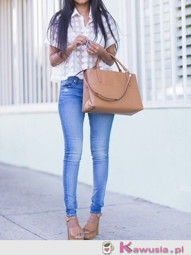 Prosty casual look