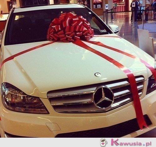 Mercedes jako prezent