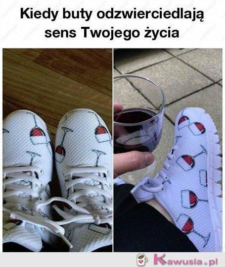 Kiedy buty odzwierciedlają twoje życie