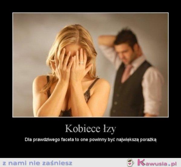 Kobiece łzy