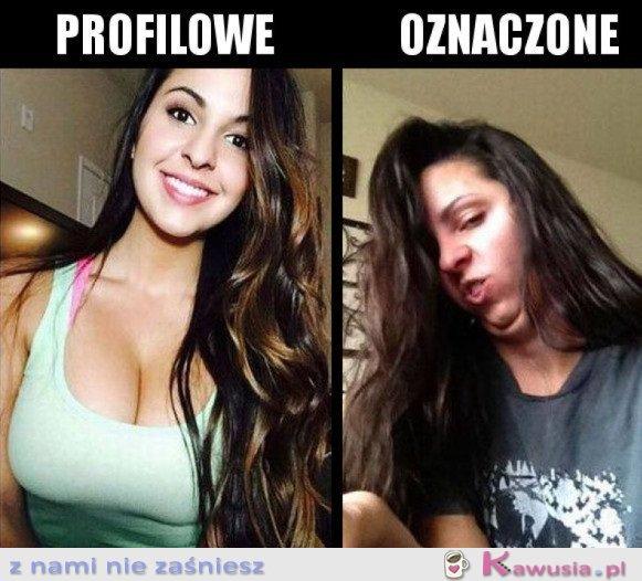 ZDJĘCIE PROFILOWE VS. OZNACZONE