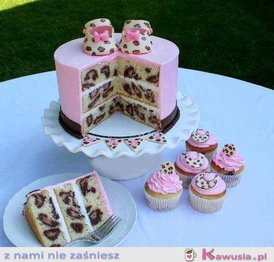 Tort w panterkę