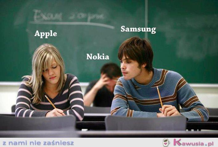 Apple, nokia, samsung...