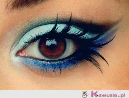 Lubicie makijaż w odcieniach niebieskiego?