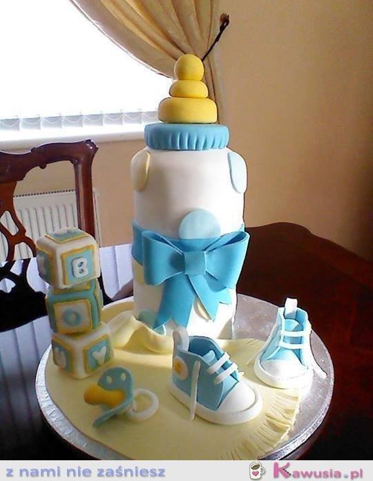 Niesamowity tort na pierwsze urodziny