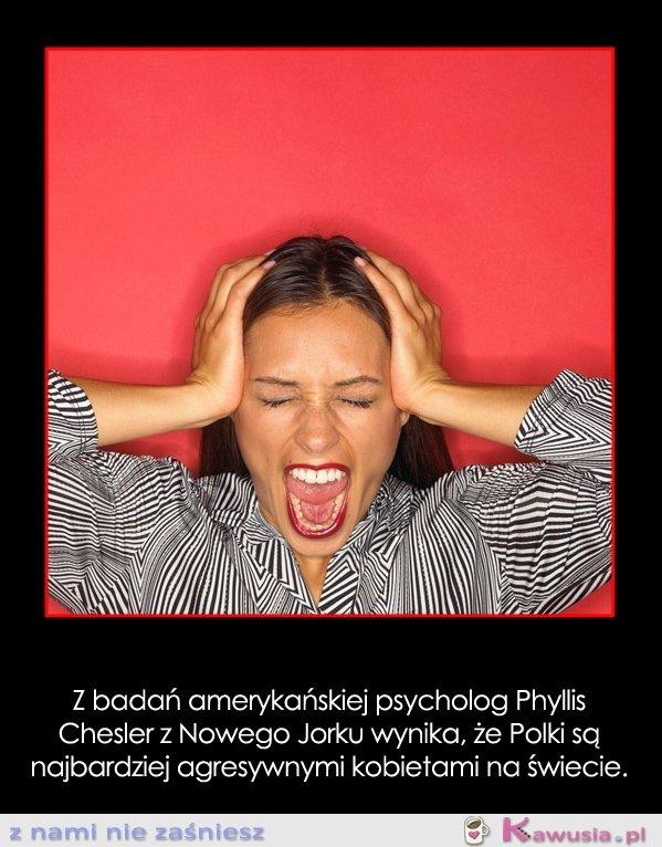 Z badań amerykańskiej psycholog...