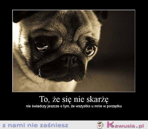 Smutny słodziaczek ;-*