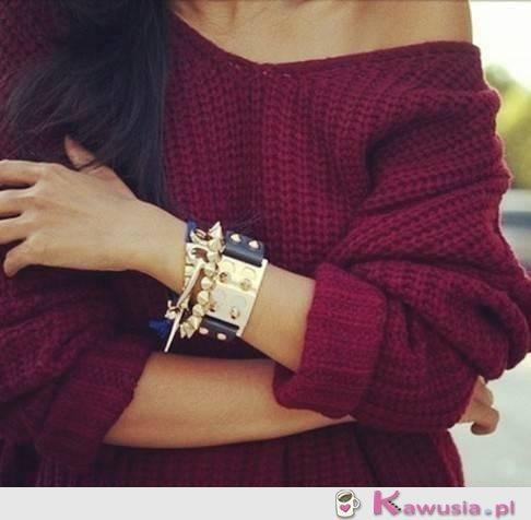 Piękny sweter