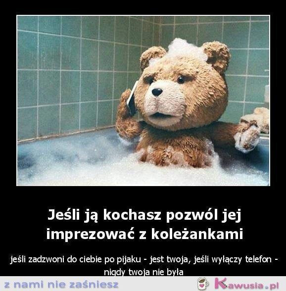 Miś Ted radzi..