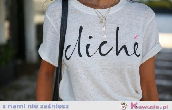 Lubicie proste t-shirty?