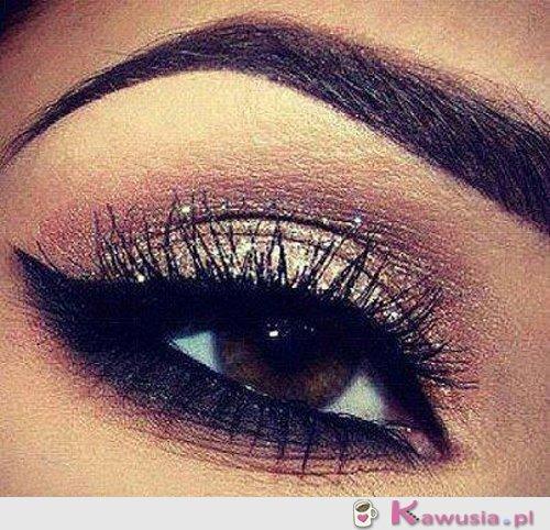 śliczny make up
