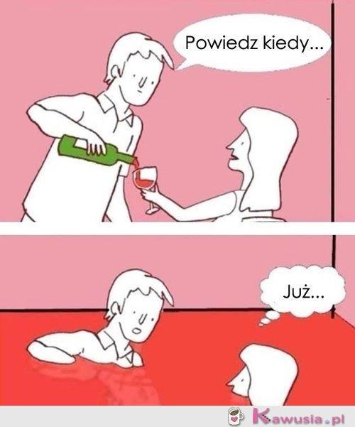 Wina poproszę