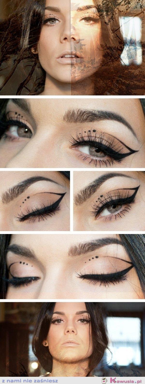 Oryginalny makeup