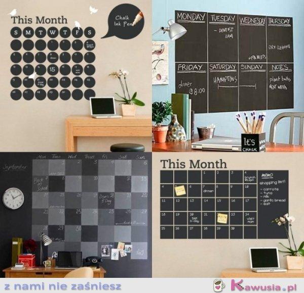Pomysł na oryginalny kalendarz