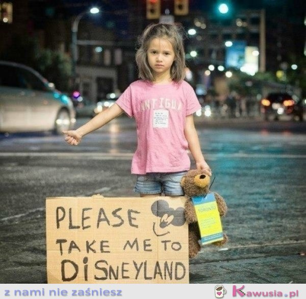 Please, take me to Disneyland