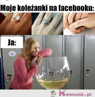 Moje koleżanki na facebooku