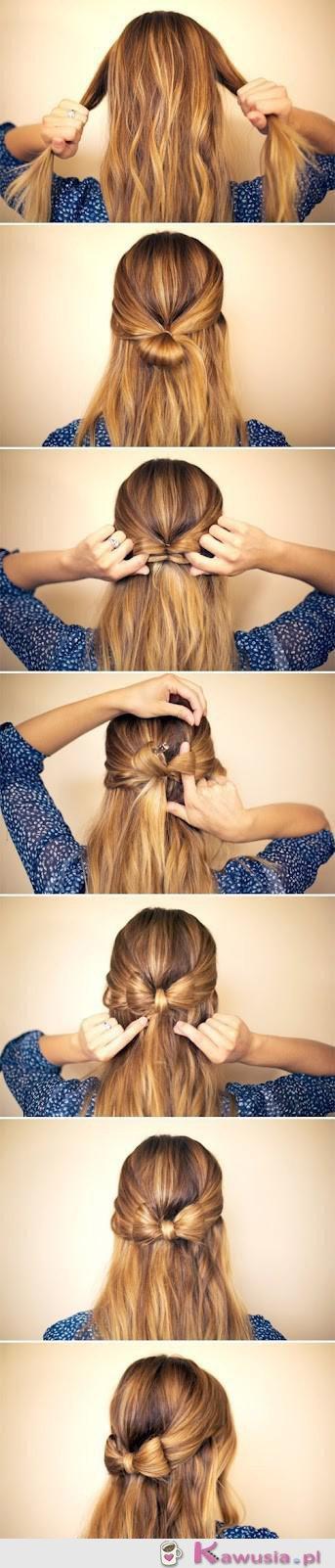 Śliczna fryzurka