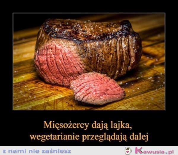 Kto lubi mięsko daje lika