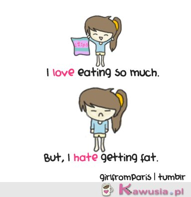 I love eating