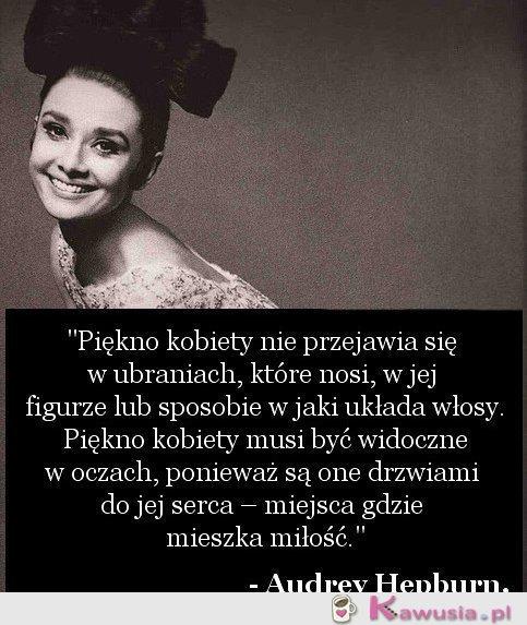 Cytat Audrey Hepburn