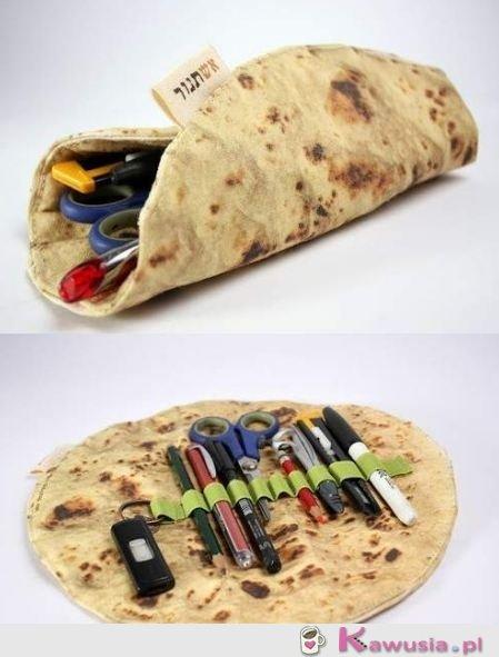 Piórnik tortilla do szkoły