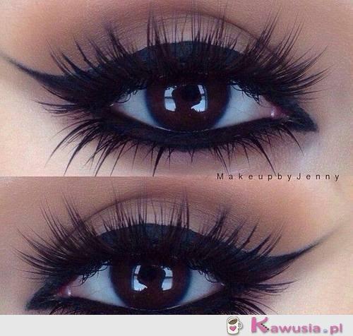 Niesamowity make up!