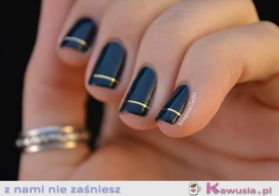 Proste, ładne paznokcie