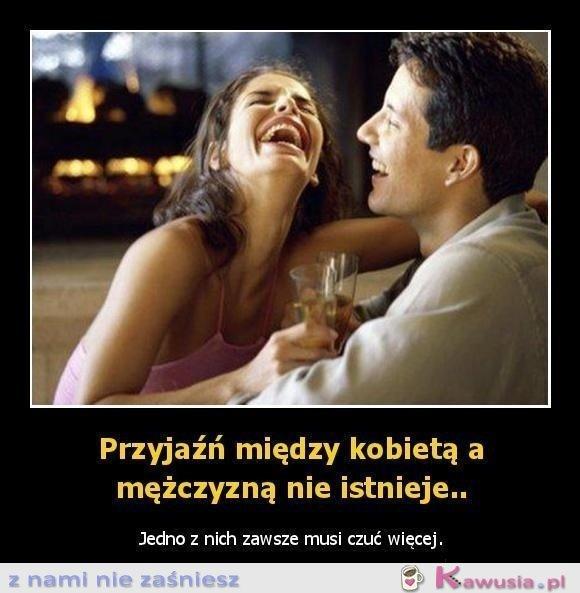 Przyjaźń między kobietą i mężczyzną...