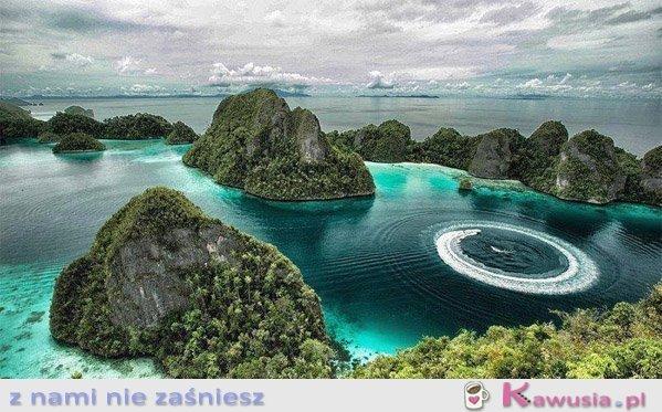 Urocze miejsce w Indonezji