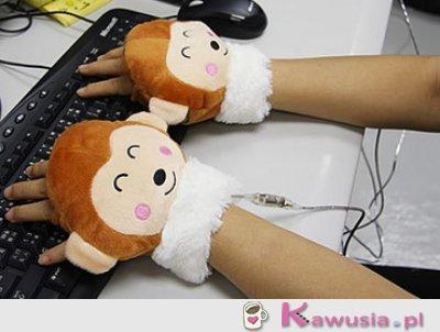 Rękawiczki na USB grzejęce dłonie :)