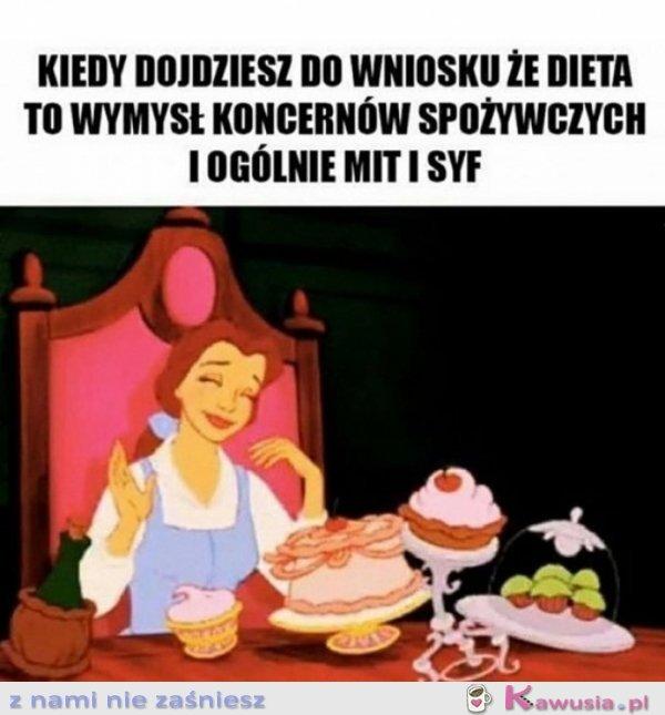 Dziewczyny dieta to wielki mit