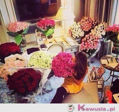 Kobiecie kwiatów nigdy za wiele