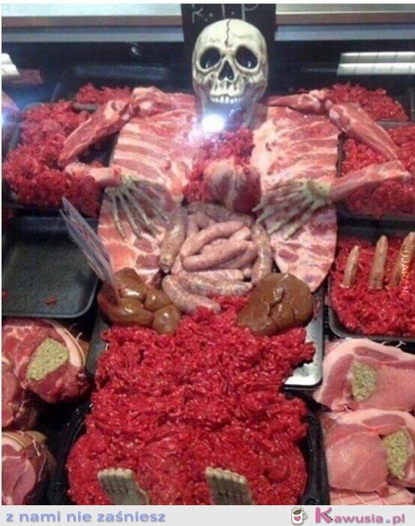 Pani u mnie w mięsnym ma fantazję