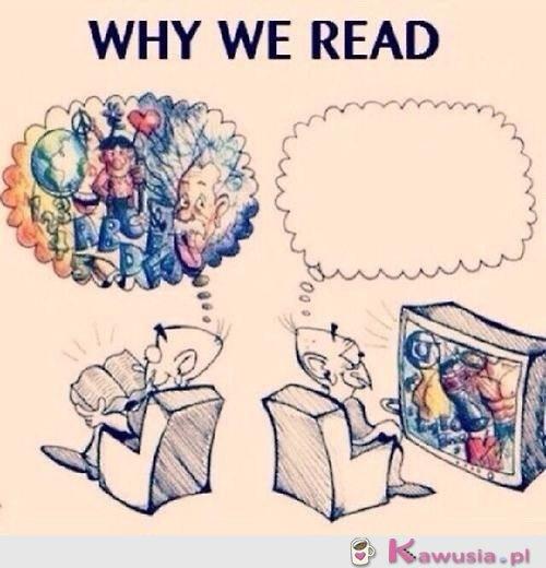 Dlaczego czytamy